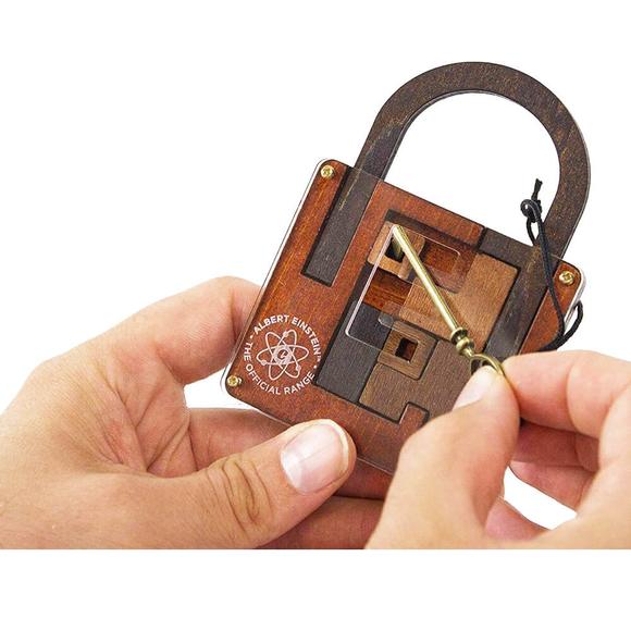 Professor Puzzle 3D Einstein's Lock Puzzle EIN-8