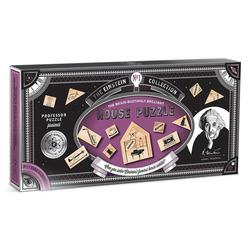 Professor Puzzle Einstein's House Ahşap Puzzle EIN-2 - Thumbnail