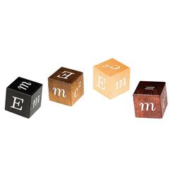 Professor Puzzle E=mc2 Puzzle Blocks EIN-3 - Thumbnail