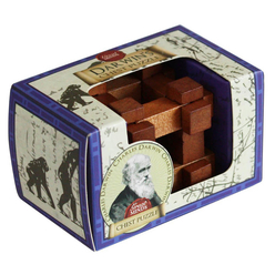 Professor Puzzle Great Minds Darwin's Chest Ahşap Mini Puzzle - Thumbnail