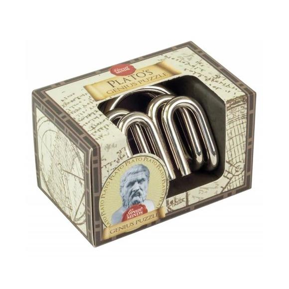Professor Puzzle Great Minds Plato's Genius Metal Mini Puzzle