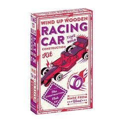 Professor Puzzle Wind Up Racing Car Puzzle PF-11 - Thumbnail