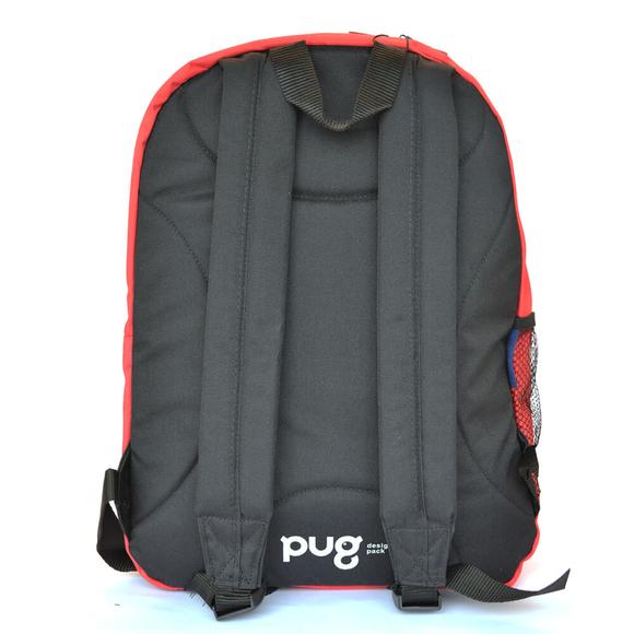 Pug Daily Sırt Çantası Kırmızı 0053-17