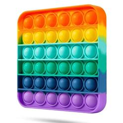 Push Bubble Pop It Duyusal Oyuncak Özel Pop Stres Gökkuşağı - Thumbnail