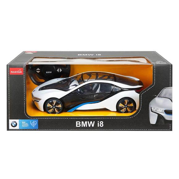 Rastar BMW I8 Uzaktan Kumandalı Işıklı Araba 1:14 Ölçek S00049600