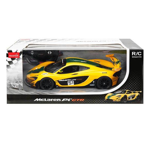 Rastar Mclaren P1 GTR Uzaktan Kumandalı Işıklı Araba 1:14 Ölçek S01075000