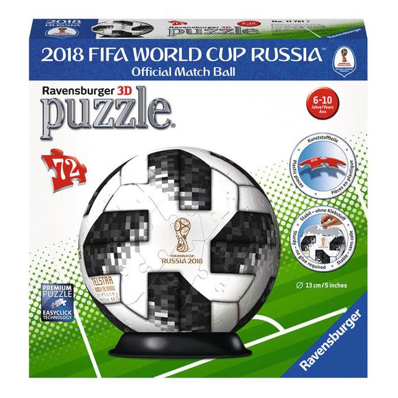 Ravensburger 3D Puzzle 2018 Dünya Kupası Futbol Topu 72 Parça 117512