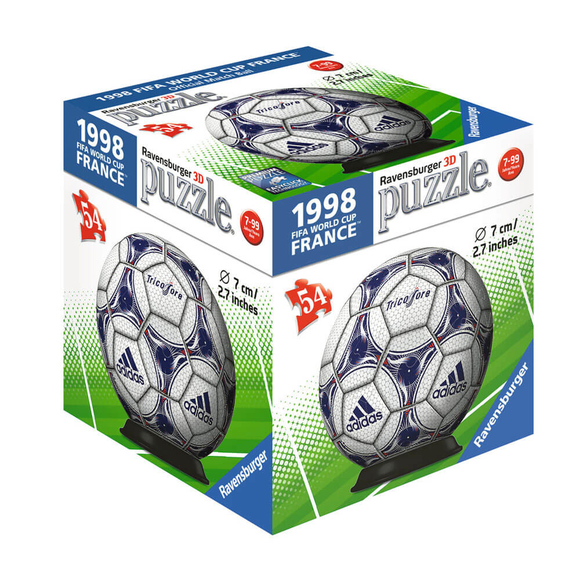 Ravensburger 3D Puzzle Dünya Kupası Futbol Topu 54 Parça 119370