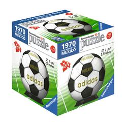 Ravensburger 3D Puzzle Dünya Kupası Futbol Topu 54 Parça 119370 - Thumbnail