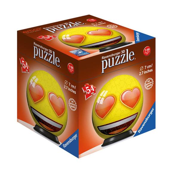 Ravensburger 3D Puzzle Emojiler 54 Parça Plastik 119219