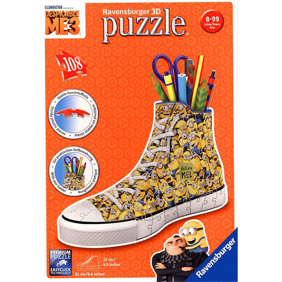 Ravensburger 3D Puzzle Sneaker Minions 112623