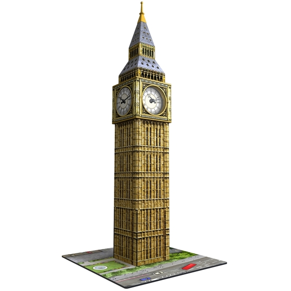 Ravensburger Big Ben With Clock 216 Parça 3D Puzzle 125869
