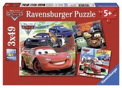 Ravensburger Disney Cars 2 3'lü 49 Parça Puzzle 92819 - Thumbnail