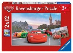 Ravensburger Disney Cars 2'li 12 Parça Puzzle 75546 - Thumbnail