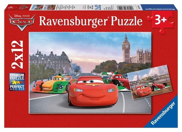 Ravensburger Disney Cars 2'li 12 Parça Puzzle 75546