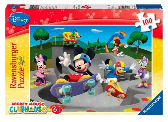 Ravensburger Disney Mickey Mouse 100 Parça Puzzle 108718