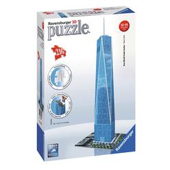 Ravensburger Dünya Ticaret Merkezi 216 Parça 3D Puzzle 125623 - Thumbnail