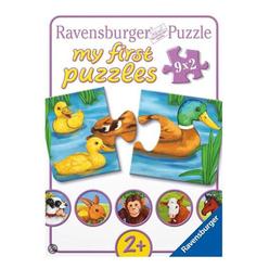 Ravensburger Hayvanlar 9X2 Parça Puzzle 73313 - Thumbnail