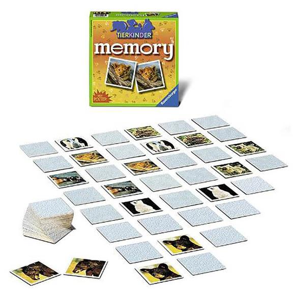 Ravensburger Tierkinder Memory Hafıza Oyunu 212750