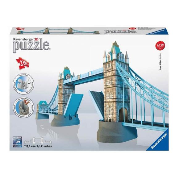 Ravensburger Tower Bridge 3D Puzzle 216 Parça 125593