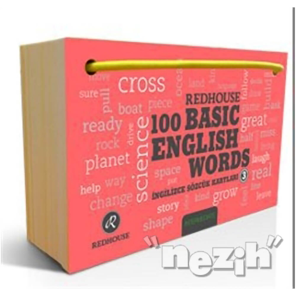 Redhouse 100 Basic English Words 3