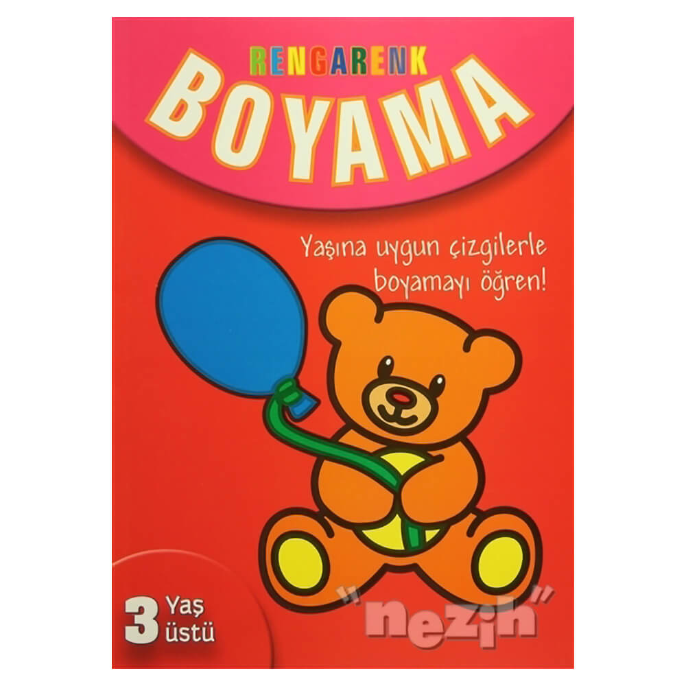 Rengarenk Boyama 3 Yas Ustu Nezih