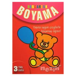 Rengarenk Boyama - 3 Yaş Üstü - Thumbnail