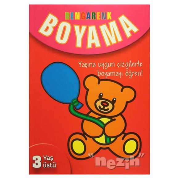 Rengarenk Boyama - 3 Yaş Üstü