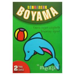 Rengarenk Boyama / Yaşına Uygun Çizgilerle Boyamayı Öğren! - Thumbnail