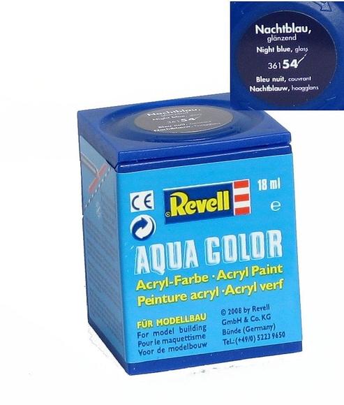 Revell Aqua Color Maket Boyası 18 ml Parlak Gece Mavisi 36154