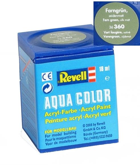 Revell Aqua Color Maket Boyası 18 ml Yeşil Silk 36360
