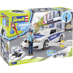 Revell Junior Kit Police Car With Figure 00820 - Thumbnail