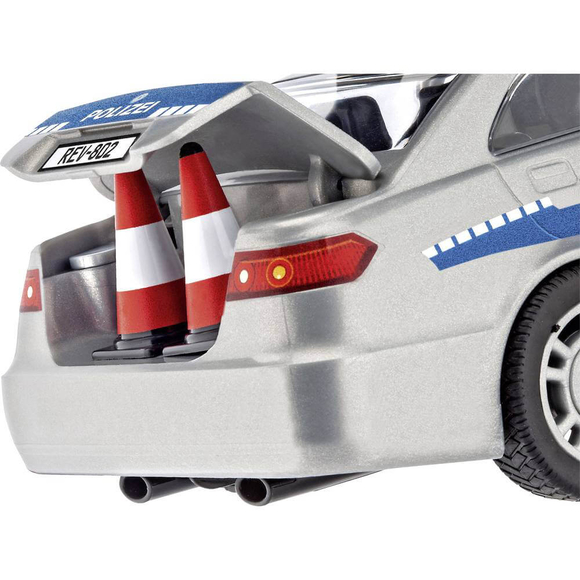 Revell Junior Kit Police Car With Figure 00820