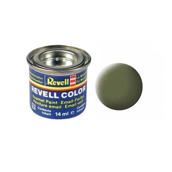 Revell Maket Boya Koyu Yeşil Mat Raf 14 ml 32168