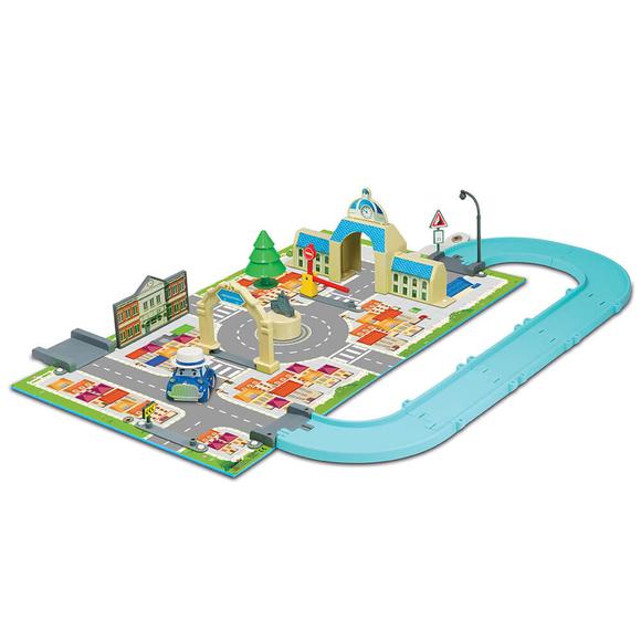 Robocar Poli Kitap Kasaba Belediye Binası Oyun Seti 83279