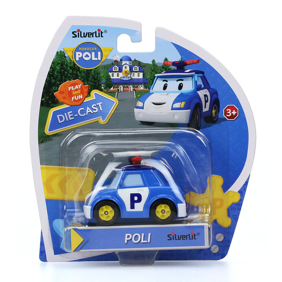 Robocar Poli Metal Araç Figür 83151