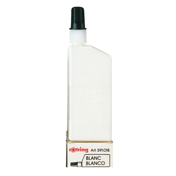Rotring Rapido Mürekkebi 23 ml Beyaz S0216550