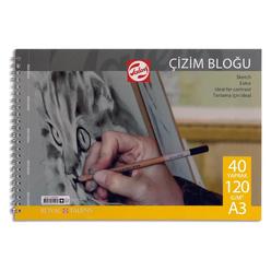 Royal Talens Çizim Blok A3 Spiralli 40 Yaprak 120 Gr - Thumbnail