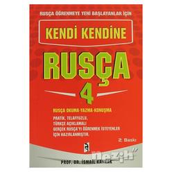 Rusça Öğrenmeye Yeni Başlayanlar İçin - Kendi Kendine Rusça 4 - Thumbnail