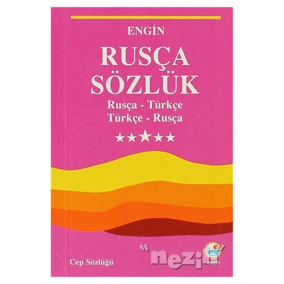 Rusça Sözlük (Cep Sözlüğü)