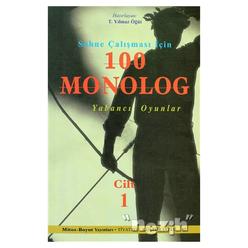 Sahne Çalışması İçin 100 Monolog Cilt 1 - Thumbnail