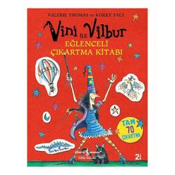 Vini ile Vilbur Eğlenceli Çıkartma Kitabı - Thumbnail