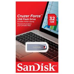 Sandisk Cruzer Force USB Bellek 32 GB SDCZ71 - Thumbnail
