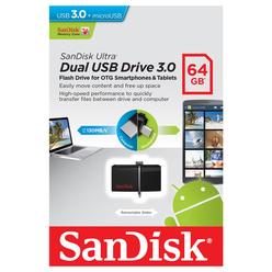 Sandisk Ultra Dual USB Bellek 64 GB SDDD2 - Thumbnail