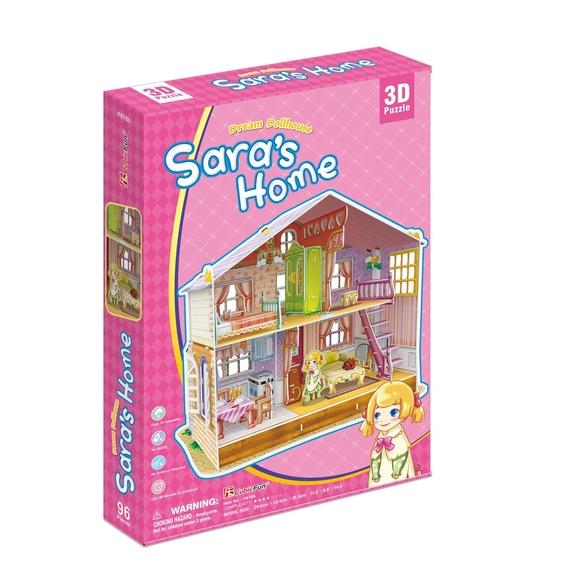 Sara'nın Rüya Oyuncak Evi 3D Puzzle P678H