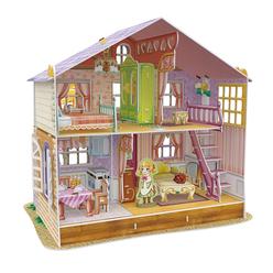 Sara'nın Rüya Oyuncak Evi 3D Puzzle P678H - Thumbnail