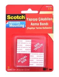 Scotch 108 Çift Taraflı Yapışıp Çıkabilen Asma Bandı - Thumbnail