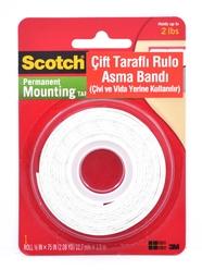 Scotch 110 Çift Taraflı Köpük Rulo Asma Bandı - Thumbnail
