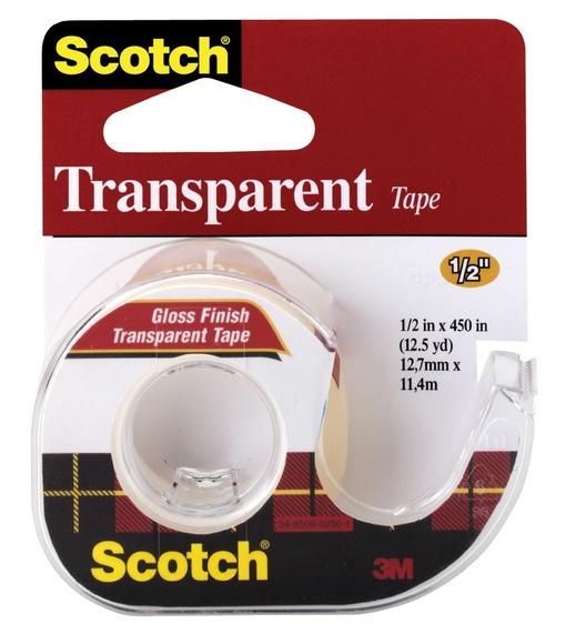 Scotch 144Ss Bant Kesicili Şeffaf Kırtasiye Bandı