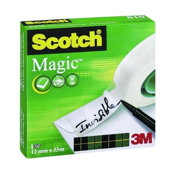Scotch 810 1233 Magic Bant 12 mm x 33 mt